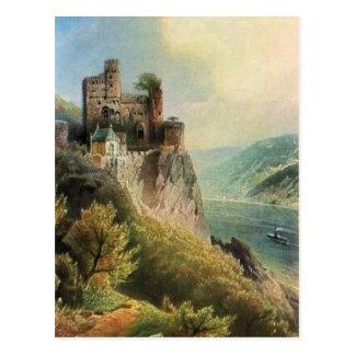 Cartão Postal Von Astudin, Burg Rheinstein