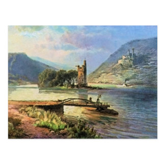 Cartão Postal Von Astudin, Maeuseturm, Ehrenfels