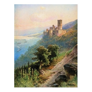 Cartão Postal Von Astudin, Schloss Stolzenfels
