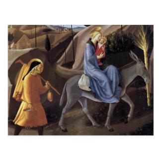 Cartão Postal Vôo do Fra Angelico- em Egipto