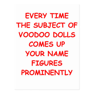 Cartão Postal voodoo