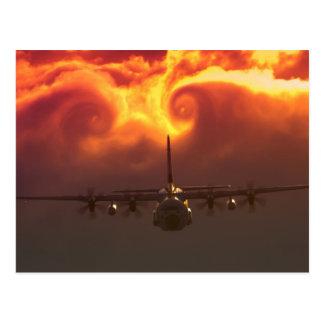 Cartão Postal Vortex C-130