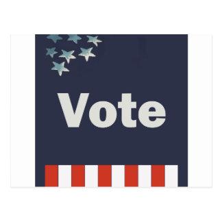 Cartão Postal Voto patriótico