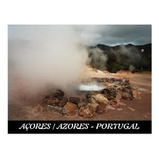 Cartão Postal Vulcão de Furnas