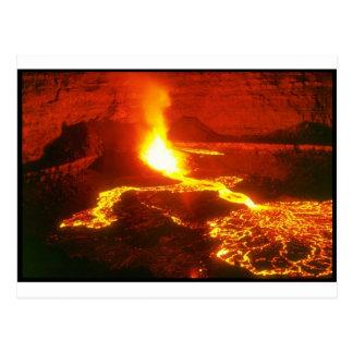 Cartão Postal Vulcão de Kilauea
