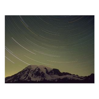 Cartão Postal WA, parque nacional de Monte Rainier, o Monte