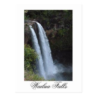 Cartão Postal Wailua cai Kauai Havaí