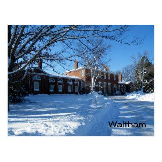 Cartão Postal Waltham