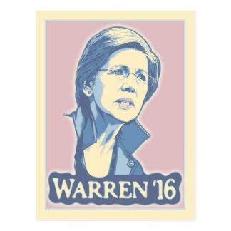 Cartão Postal Warren '16