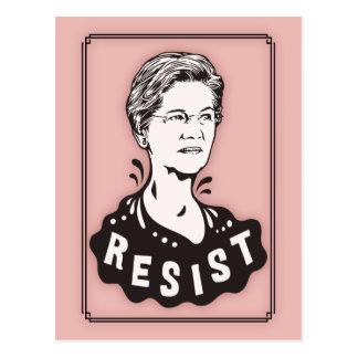 Cartão Postal Warren - resista -517
