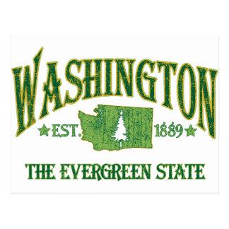 Cartão Postal Washington