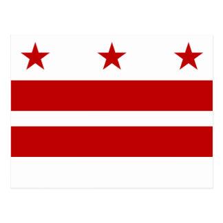 Cartão Postal Washington, bandeira da C.C.