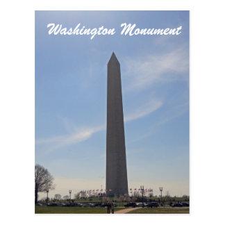 Cartão Postal Washington DC 003 do monumento de Washington