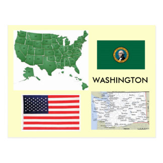 Cartão Postal Washington, EUA