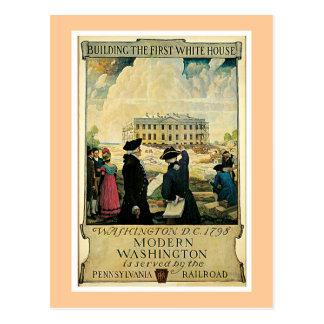 Cartão Postal Washington moderno