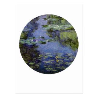 Cartão Postal Waterlilies