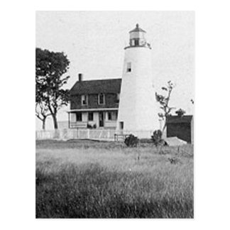 Cartão Postal Watts do farol da ilha