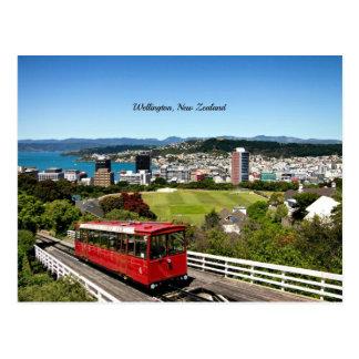 Cartão Postal Wellington, Nova Zelândia