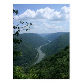 Cartão Postal West Virginia