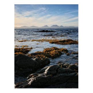 Cartão Postal Westcoast de Scotland, ilha de Jura