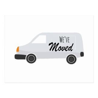 Cartão Postal Weve moveu-se