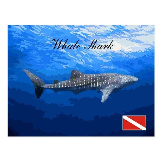 Cartão Postal Whale Shark Postcard