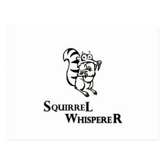Cartão Postal Whisperer do esquilo