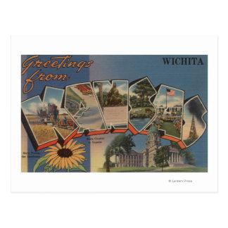 Cartão Postal Wichita, Kansas - grandes cenas da letra