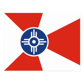 Cartão Postal Wichita, Kansas, os Estados Unidos