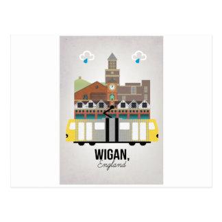 Cartão Postal Wigan