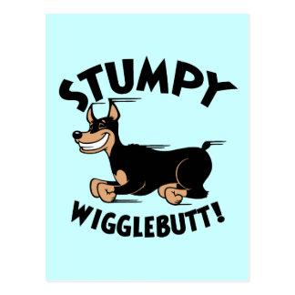 Cartão Postal Wigglebutt Stumpy!