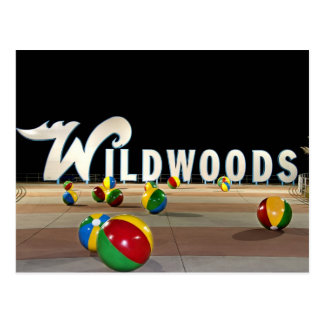Cartão Postal Wildwoods assina dentro Wildwood New-jersey