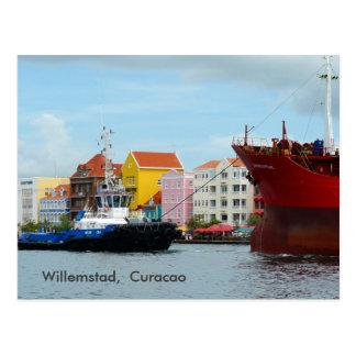 Cartão Postal Willemstad, Curaçau