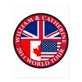 Cartão Postal William e Catherine