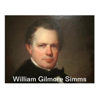 Cartão Postal William Gilmore Simms