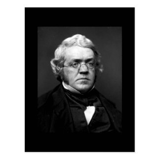 Cartão Postal William Makepeace Thackeray