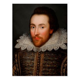 Cartão Postal William Shakespeare