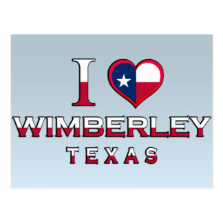 Cartão Postal Wimberley, Texas