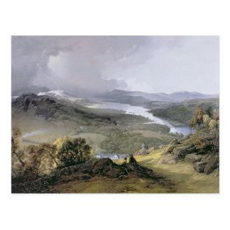 Cartão Postal Windermere: da cabeça de Orrest