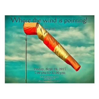Cartão Postal Windsock