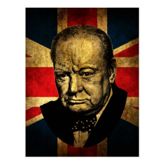 Cartão Postal Winston Churchill