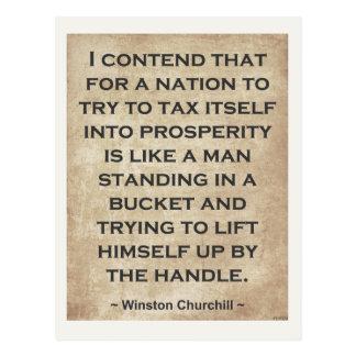 Cartão Postal Winston Churchill #1