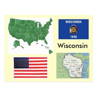 Cartão Postal Wisconsin, EUA
