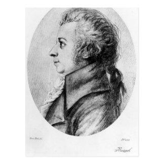 Cartão Postal Wolfgang Amadeus Mozart