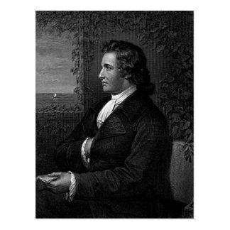 Cartão Postal Wolfgang von Goethe