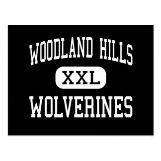 Cartão Postal Woodland Hills - Wolverines - alto - Pittsburgh
