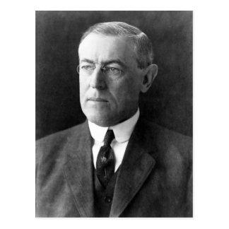 Cartão Postal Woodrow Wilson