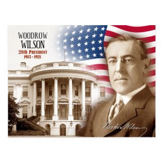 Cartão Postal Woodrow Wilson - 28o presidente dos E.U.