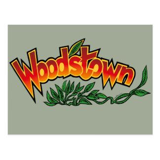 Cartão Postal Wood'stown por Alphonse Daudet
