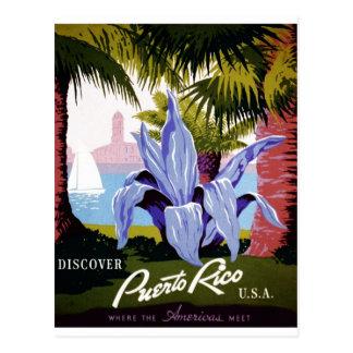 Cartão Postal WPA - descubra Puerto Rico